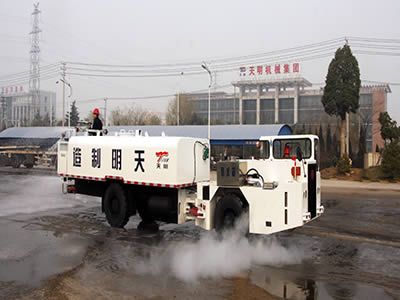 WC10E(B)ANTI EXPLOSION TUNNEL CLEANING VEHICLE